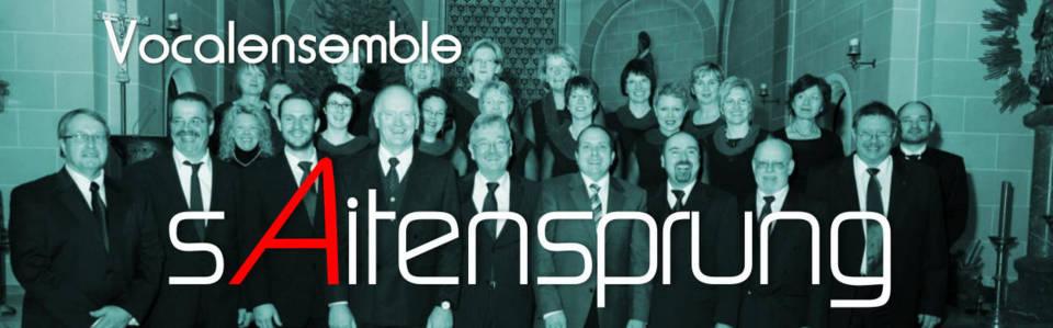 Vocalensemble sAitensprung mit AllCantabile zum Adventskonzert 2010
